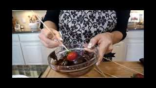 Real Healthier Version Of Chocolate Covered Strawberries