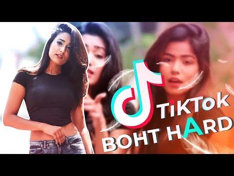 BAHUT HARD TIKTOK GIRLS || GAREEB