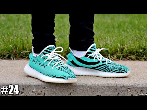 CUSTOM YEEZY ZEBRA V2 !! | TIFFANY TUESDAY - EP.24