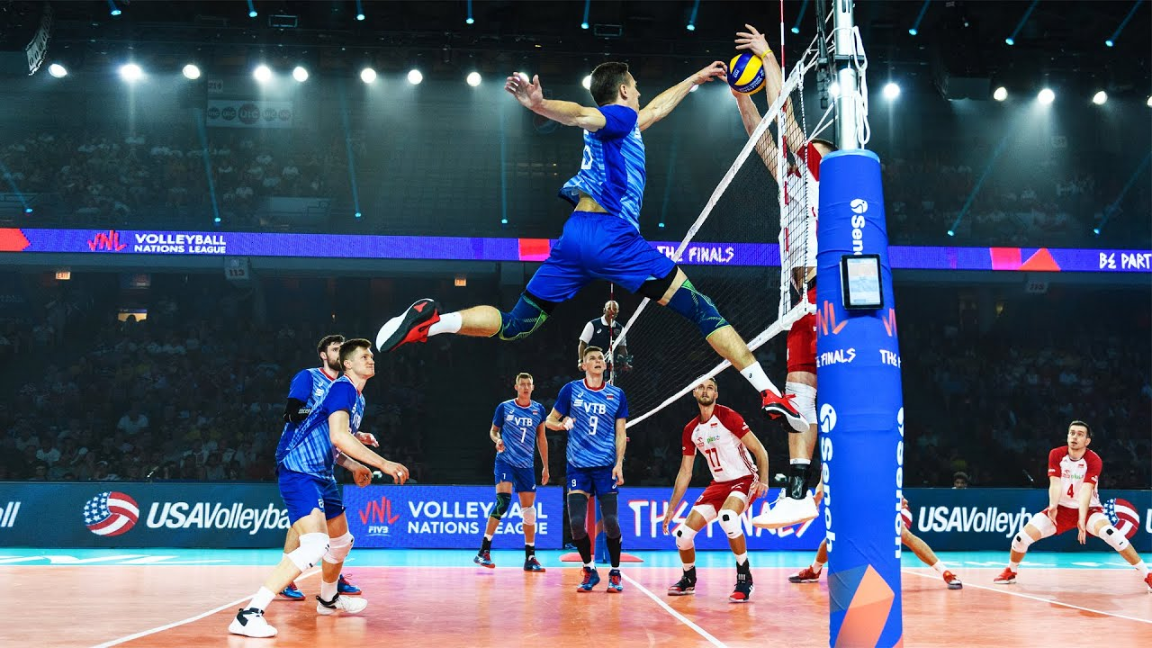 Spike: 375cm | Victor Poletaev - Volleyball Player Without Gravity (HD)