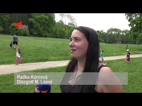 Discgolf se  v Mariánských Lázních představil veřejnosti