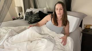 Girl Farting In Bed