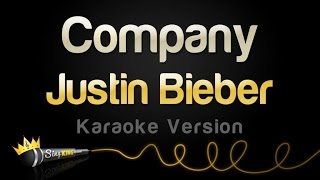 vuclip Justin Bieber - Company (Karaoke Version)