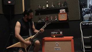Orange Amps Dark Terror & PPC212 Quick Test