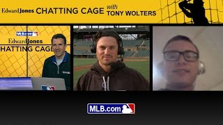 Chatting Cage: Tony Wolters answers fans