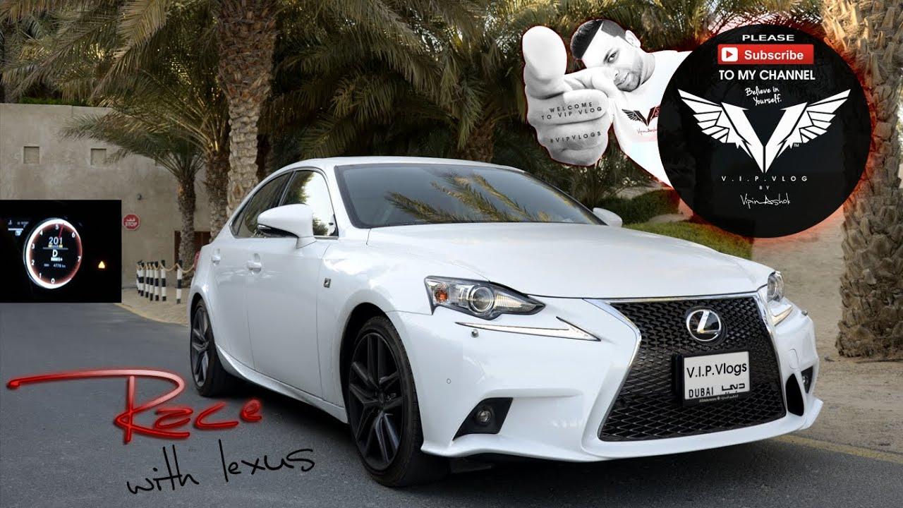 Lexus IS 350 F Sport Top Speed!!!