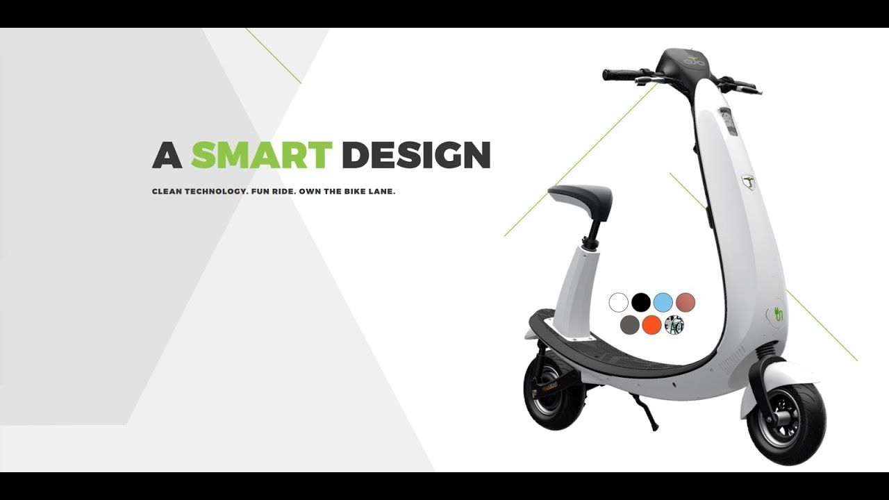 Ojo Electric Scooter First Look Myindmedia Ces 2017