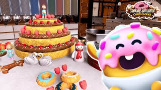 Download lagu 超本格的お菓子作りゲームで「ティラミス」を作ってみたらめっちゃ笑った【Cooking Simulator】