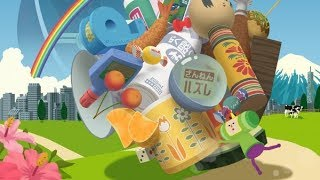 Katamari Damacy REROLL rolling onto the Nintendo Switch
