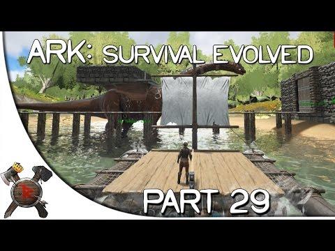 "Ark: Survival Evolved Gameplay - Part 29: ""Sailboat Docks!!"" (Season 2 w/ Facecam)"