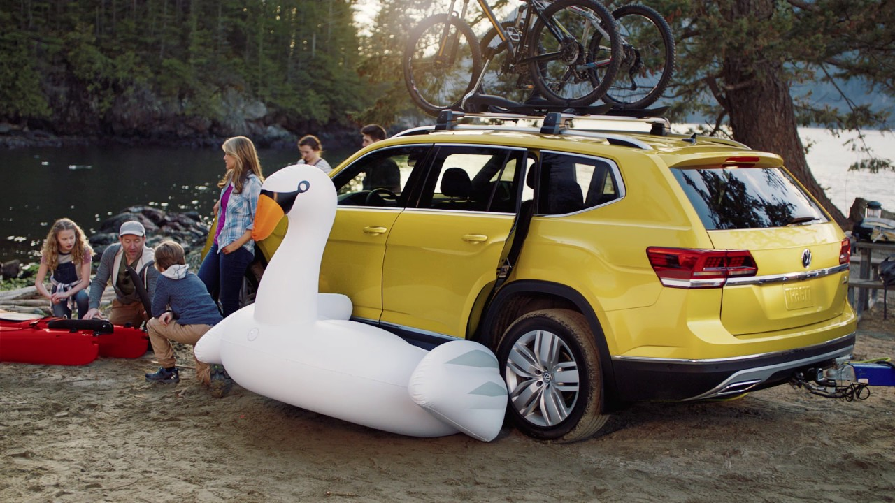 Camping With The Atlas Vw Suv Volkswagen Canada Youtube