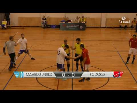 Maardu United vs Doker, Grandliiga Futsal 2017/2018