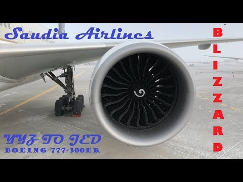 Heading to Jeddah, Saudi Arabia - Toronto Pearson Airport, Saudia Flight Take Off and Landing