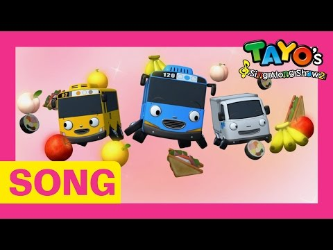 [Tayo's Sing Along Show 2] #06 It's Yummy Lunch Time!