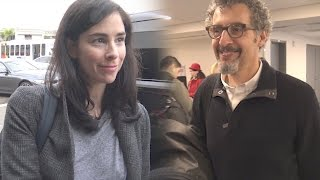 Sarah Silverman and John Turturro Talk About Meryl Streep's Speech | Splash News TV
