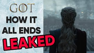 HOW IT ALL ENDS! - Game of Thrones Season 8 Episode 6 LEAKED