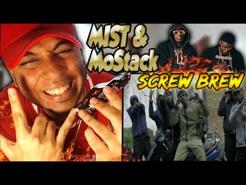 MoStack Ft Mist - Screw & Brew (Official Video) Reaction Dave 100ms Next?