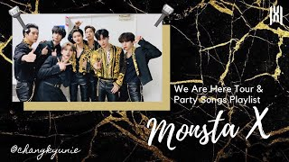 Monsta X (몬스타엑스) | We Are Here World Tour Setlist, Concert P…