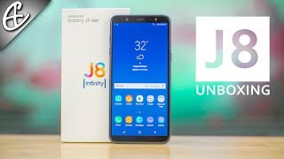 Samsung Galaxy J8 - We Unboxed it, Will YOU? Hands On Overview!