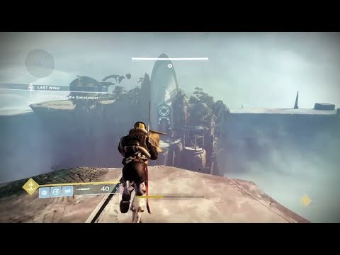 Destiny 2 Forsaken - How To Get Second Last Wish Raid Chest (Wall Of Wishes)