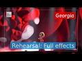 Tamara Gachechiladze Keep The Faith Georgia Rehearsal Full Effects Eurovision 2017 mp3