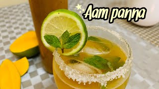 Aam panna recipe | iftaar Special drink | make and store Aam panna concentrate