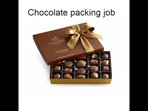 job in Dubai 447, Chocolate packing job in Dubai Employment Visa