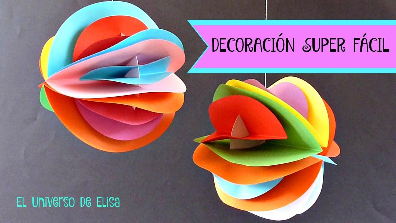 Decoraci n super f cil para tu cuarto decora tu - Decoracion de colores ...