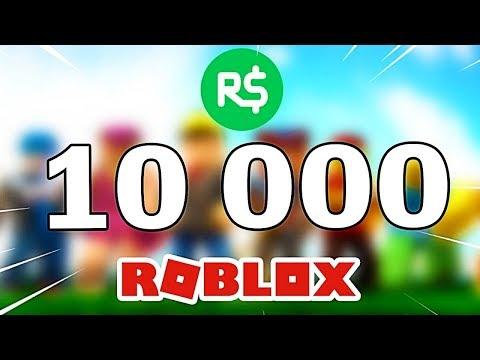 Roblox Jeux Qui Donnent Es Robux 2018 Je Vous Offre 10 000 Robux Dans Roblox Youtube