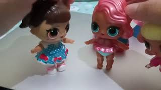 LOL dolls opened a pikmi pop surprise style series