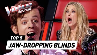 JAW-DROPPING Blind Auditions that shocked our coaches on The Voice