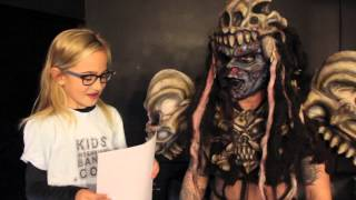 Kids Interview Bands - Pustulus Maximus of GWAR