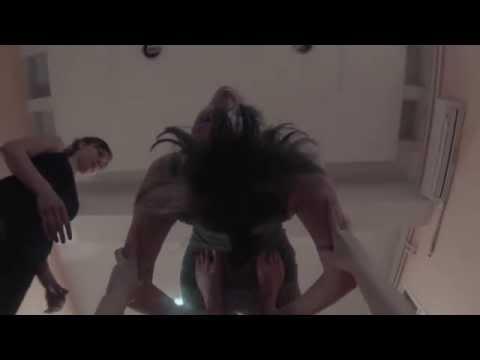 Acro yoga, upside-down perspective