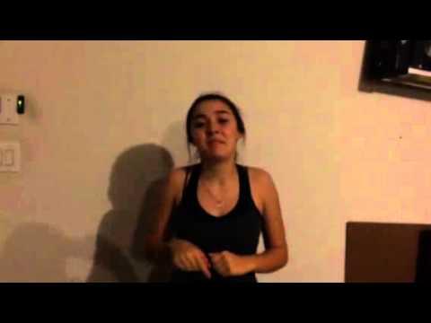 American sign language monologue