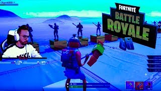FORTNITE THE KING SENDS HIM REAL JAJÃO!