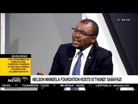 Nelson Mandela Foundation hosts Is'thunzi' Sabafazi