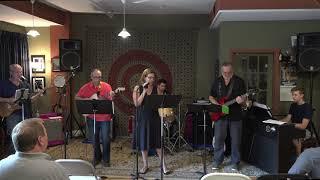 Bob, Cheryl, Arthur, Nic, Zach Performing LoveMe Like A Rock Main Street Music and Art Studio