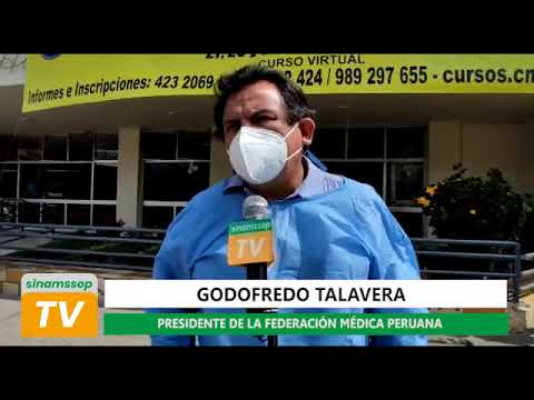 """TALAVERA: """"SUFRIMOS EL ABANDONO DE LA SALUD Y EL COLEGIO MÉD. NO SANCIONA A QUIÉNES DEBE SANCIONAR"""""""