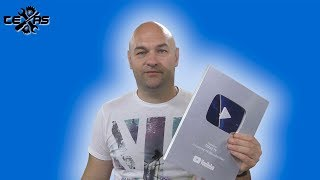СЕРЕБРЯНАЯ КНОПКА YouTube/Спасибо моим подписчикам
