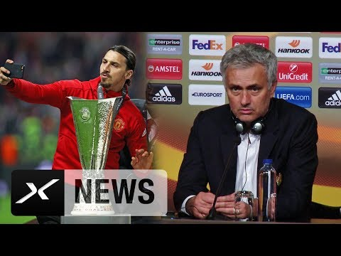 "Jose Mourinho: ""Zlatan Ibrahimovic tut mir so leid"" | Ajax Amsterdam - Manchester United 0:2"