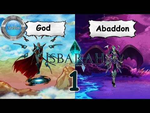 Let's Play Isbarah part 1 God & Abaddon [hard]