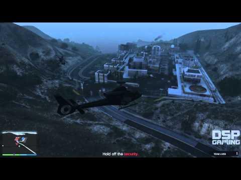 GTA Online Heists Co-op gameplay pt16 - Humane Raid - Finale!