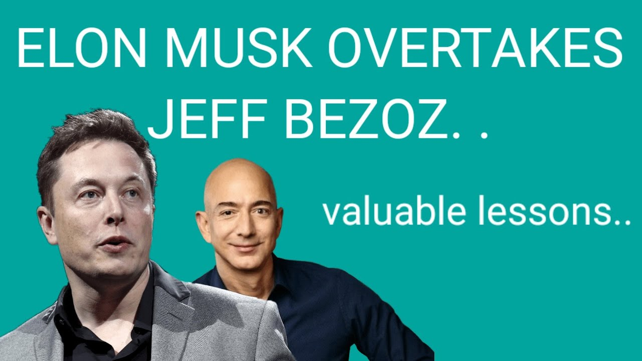 Elon Musk is close to overtaking Jeff Bezos as the world's richest ...