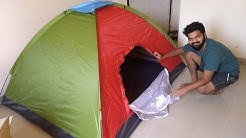 Gadgetbucket 4 Person Tent Unboxing and Review