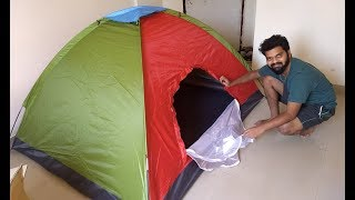 Gadgetbucket 4 Person Tent Unboxing and Review thumbnail