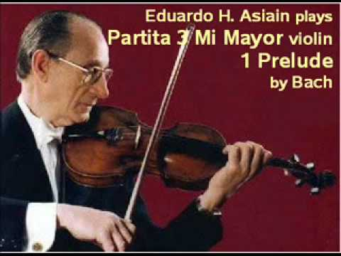 Bach - Partita 3 Mi Mayor v - 1 Prelude