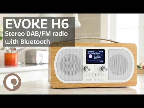 Pure Evoke H6 - Stereo DAB/FM radio with Bluetooth
