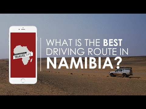 What is the best driving route in Namibia? Rhino Africa's Travel Tips