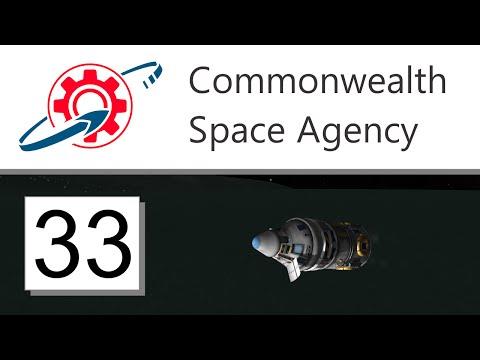Kerbal Commonwealth Space Agency - 33. Goodbye to Minmus (KSP 1.1.3)