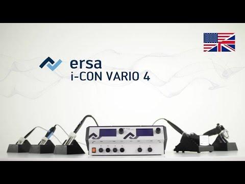 Ersa Soldering & Desoldering Station - I-CON VARIO 4 & 2 Product Video (english)